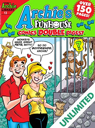 Archie's Funhouse Comics Double Digest #13
